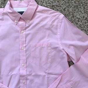NWOT Baby Pink Button Down Shirt
